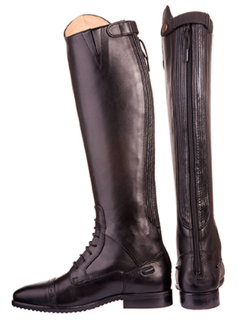 HKM LONG LEATHER FIELD RIDING BOOTS