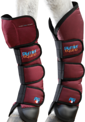 KNEE PRO-TEQUE BALLISTIC HORSE TRAVEL BOOTS - NAVY