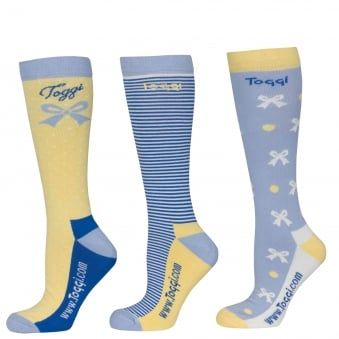 TOGGI 3 PACK SOCKS NEW HAVEN BOWS